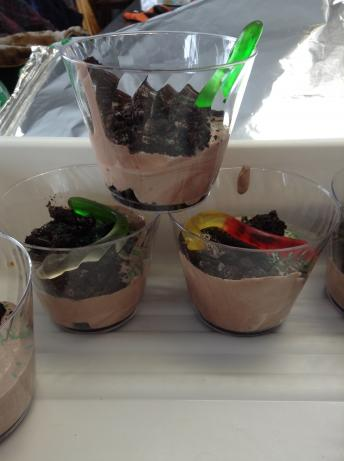 Dirt Cups For Kids. Photo by Brandyejo