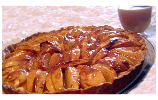 Caramel Apple Tart. Photo by Dine & Dish