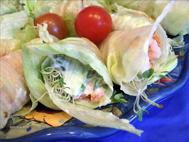 Seafood Lettuce Rolls. Photo by Derf