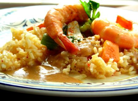 Heart Healthy Shrimp Gumbo With Cajun Spice Mix. Photo by Andi of Longmeadow Farm