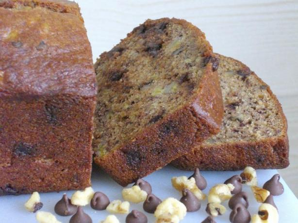 Healthier Yogurt Banana Bread. Photo by The Flying Chef
