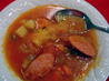Kielbasa and Sauerkraut Soup (Borsch, Borscht). Recipe by wyojess
