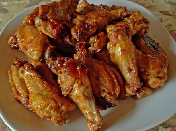 Oven-Barbecued Chicken Wings. Photo by Chef Joey Z.