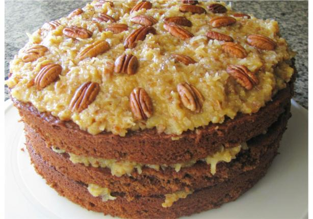 German Chocolate Cake. Photo by out of here