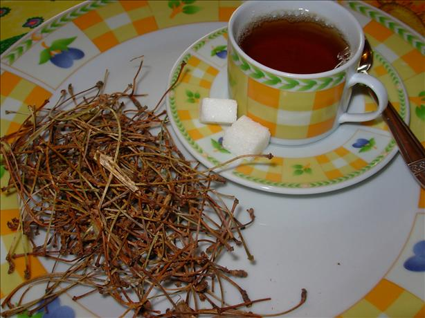 French Cherry Stalk/Stem Herbal Tea - Tisane - Infusion. Photo by French Tart