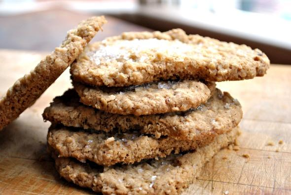 Just 1 Dozen Easy Oatmeal Cookies. Photo by Andi of Longmeadow Farm