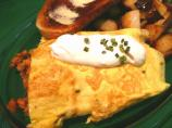 Smoked Salmon & Caramelized Onion Omelet ( #13)