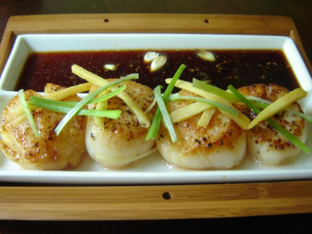 Scallops With Ginger. Photo by karenury