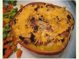 Chicken Stuffed Acorn Squash