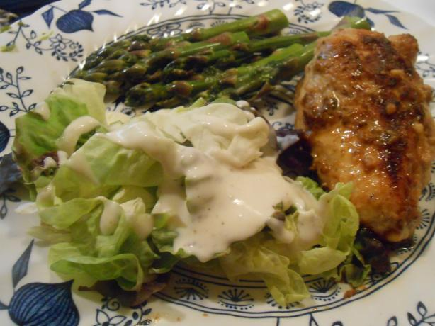 Ginger Me up Chicken! Low Fat Honey & Ginger Chicken Breasts. Photo by pammyowl