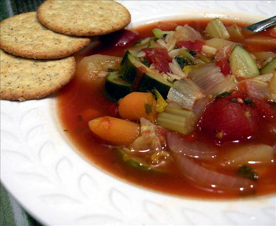 Veg-Out Soup. Photo by Derf