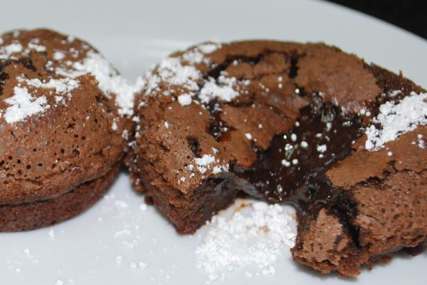 Chocolate Lava Muffins. Photo by MamaGanoush