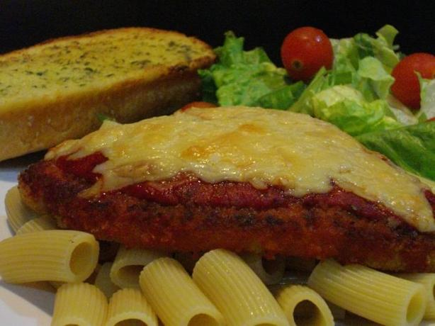 Chef Flower's Cheat Chicken Parmigiana. Photo by The Flying Chef