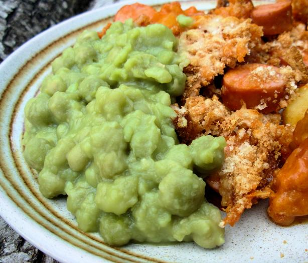 "Irish ""matter of Fact Peas"" (Mushy Peas). Photo by French Tart"