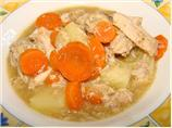 Gingered Chicken Stew (Crock Pot)