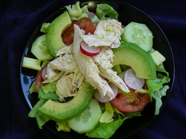 Chicken-Lime Chopped Salad. Photo by kiwidutch