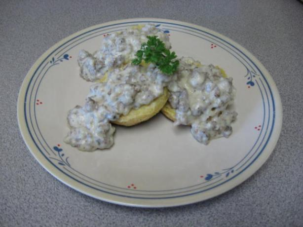 Nana's Sausage Gravy. Photo by Papa D 1946-2012