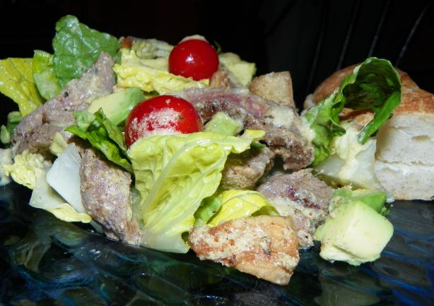 Warm Beef Salad Ala Sam. Photo by Baby Kato
