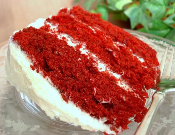 Mimi's Red Velvet Cake. Photo by Marg (CaymanDesigns)