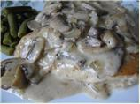 Smothered Chicken with Creamy Mushroom Gravy