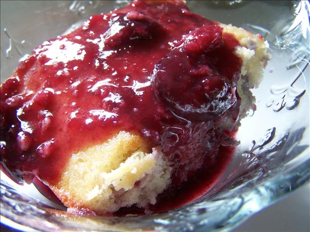 Cherry Upside Down Cake. Photo by Sherrybeth