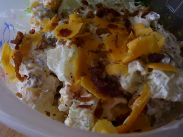 So Yummy Baked Potato Salad. Photo by Amberngriffinco