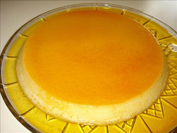 Easy Caramel Flan (Creme Caramel). Photo by C. Taylor