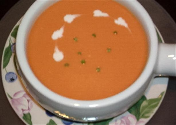 "Low-Fat ""cream"" of Tomato Soup. Photo by Diana #2"