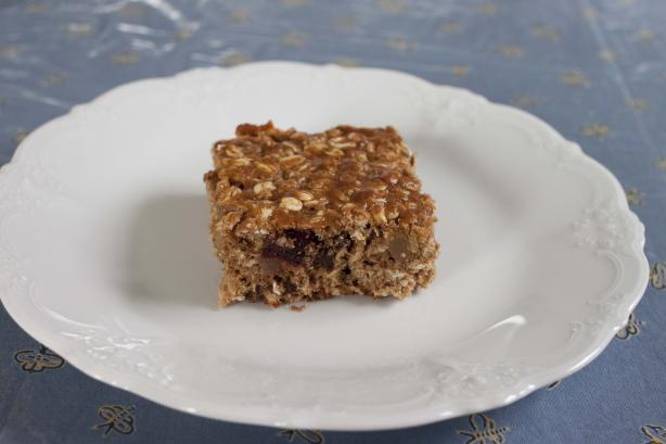 Chewy Fruit and Oatmeal Bars (Breakfast on the Go!). Photo by Riverside Len