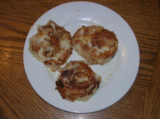Irish Potato & Bacon Cakes. Photo by morgainegeiser