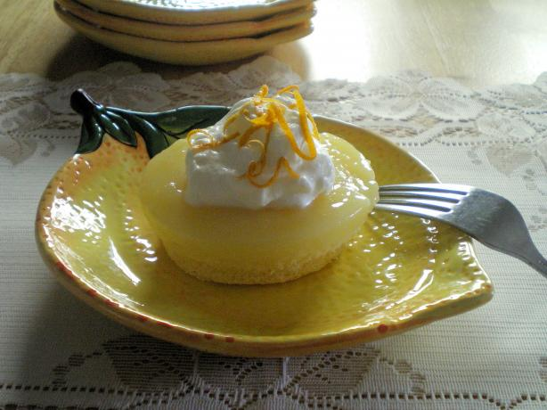 Meyer-Lemon Pudding Cake. Photo by Julie B's Hive
