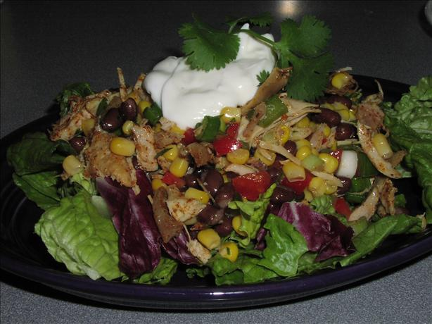Ww Southwestern Chicken-Bean Salad. Photo by TeresaS