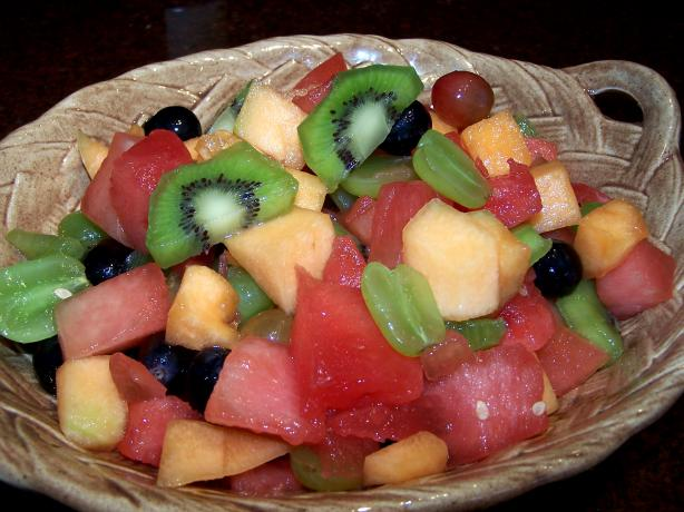 Kiwifruit Summer Fruit Salad. Photo by Rita~