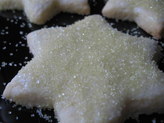 Star-Shaped Sugar Biscuits. Photo by Marlene.