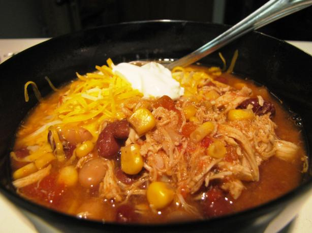 Taco Chicken Soup. Photo by loof