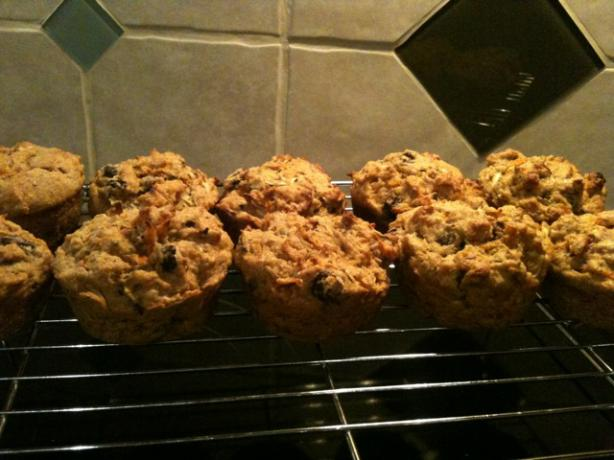 Triple Hitter Muffins (Toddler Muffins). Photo by 12reneereed34