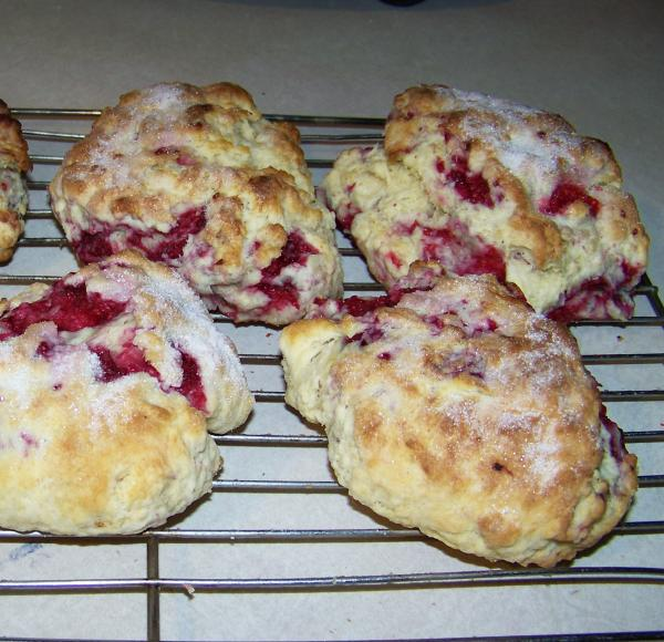 Mimi's Raspberry Scones. Photo by Mimi in Maine