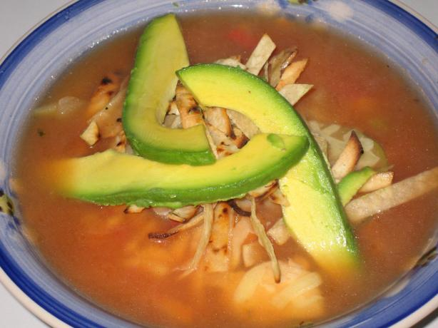El Torito Chicken Tortilla Soup. Photo by Heydarl