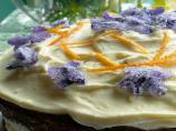 Homemade Crystallised Flowers - Violets