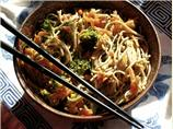 Spicy Broccoli and Soba Noodle Stir-Fry