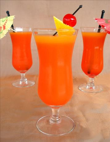 Non-Alcoholic Hurricanes. Photo by Marg (CaymanDesigns)