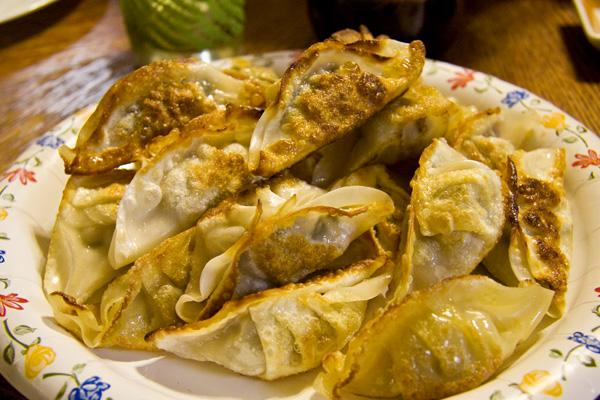 Chinese Dumplings. Photo by B-B-Q Man