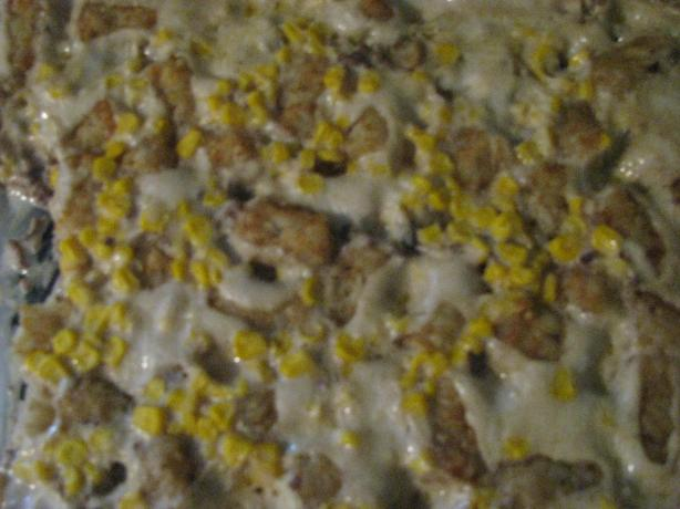 Tater Tot Casserole. Photo by Cookinmomof3