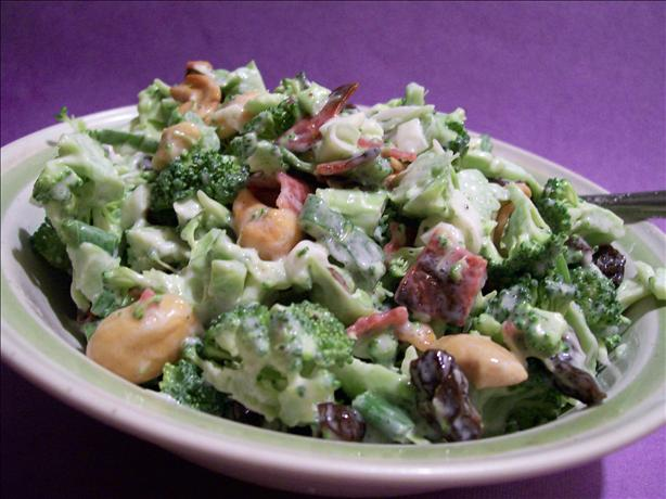 Lick-The-Bowl-Clean Bacon-Broccoli Salad. Photo by Sharon123