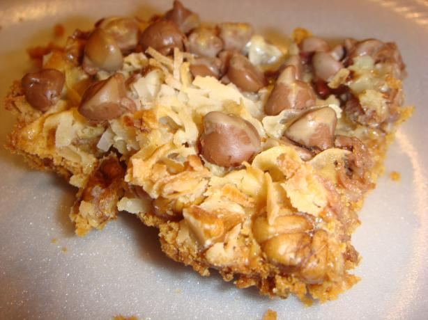 Hello Dolly Bars. Photo by Barenaked Chef