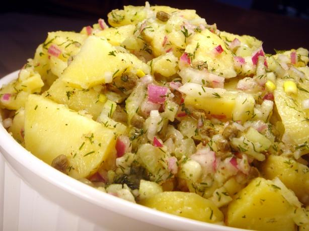 Potato Salad With Lemon-Dill Vinaigrette. Photo by Lori Mama