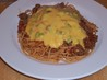Cowboy Spaghetti With Cheese Sauce - Rachael Ray. Recipe by LizP