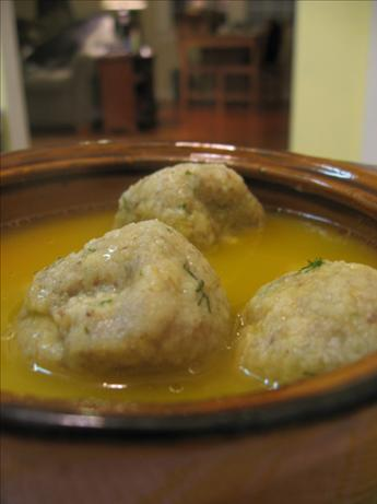 Gluten-Free Matzo Balls (Kneidlach) - Passover Soup Dumplings. Photo by What's Cooking?