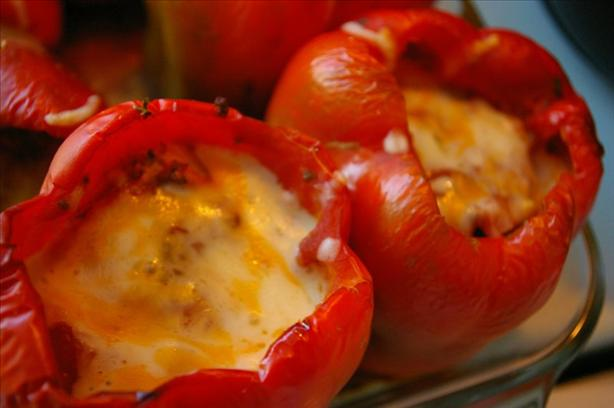 Stuffed Peppers. Photo by Redsie