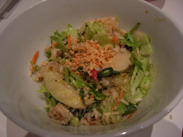 Asian Brown Rice and Peanut Salad Toss. Photo by katew